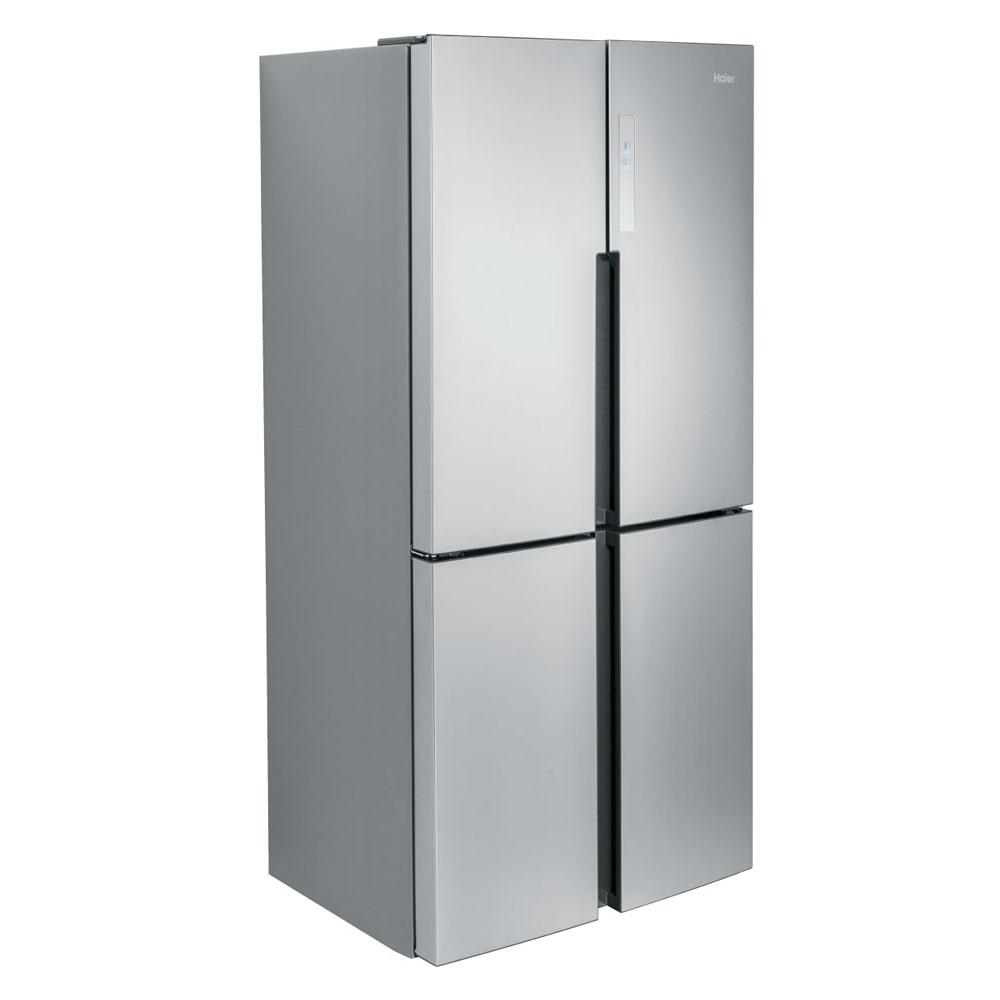 Haier réfrigérateur 16 portes à congélateur inférieur de XNUMX piXNUMX en acier inoxydable