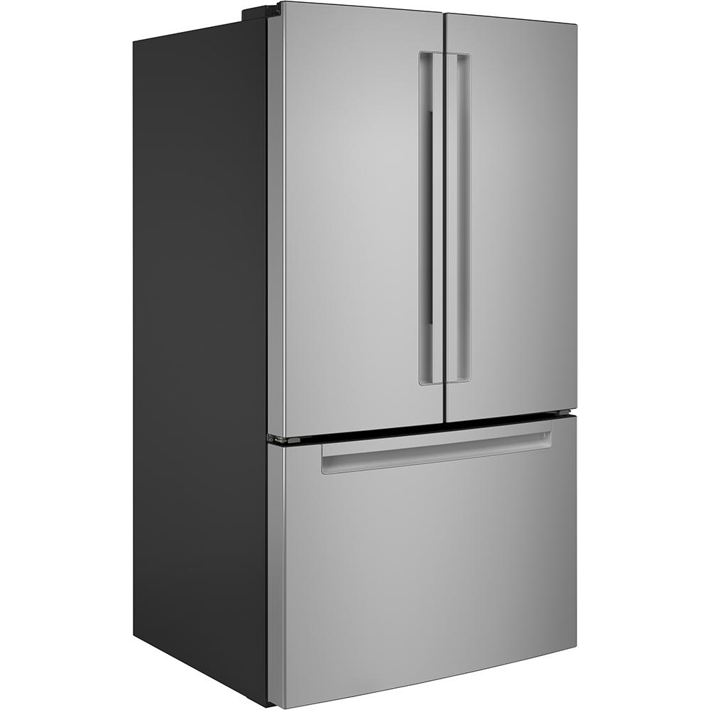 Réfrigérateur avec porte à deux battants Haier homologué ENERGY STAR® de 27.0 pi³ en acier inoxydable