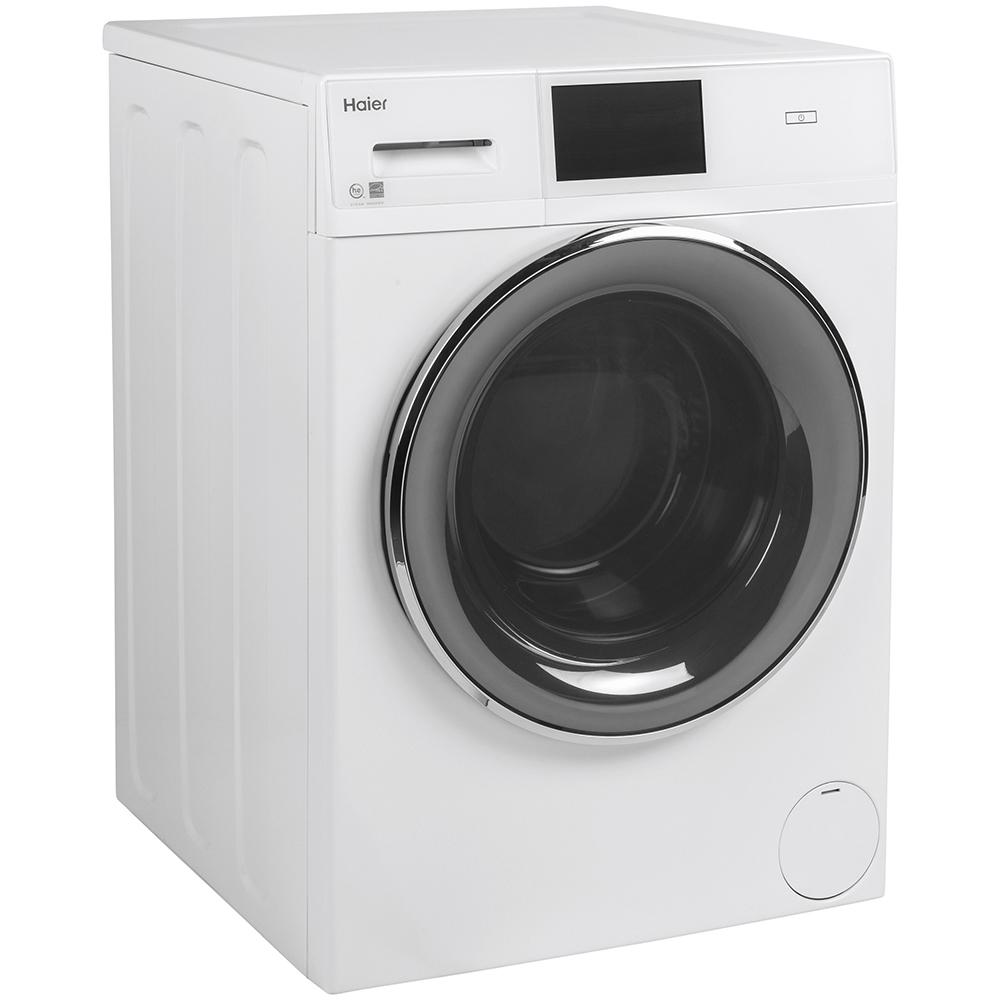Laveuse compacte à chargement frontal Haier de 2.8 pi³, blanc